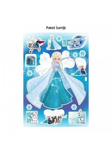 Disney Frozen 35X50 Cm Duvar Sticker, Çocuk Duvar Sticker Renkli